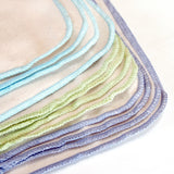 Organic Cotton Flannel Cloth Baby Wipes - Set of 12