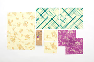 Variety Starter Pack - Bee's Wrap Beeswax Food Wraps