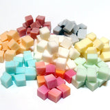Vegan Cloth Wipe Bit Solution Cubes - SAMPLE Size of Triple Butter Soap Bit Wipe Solution Cubes for Cloth Diapering & Feminine Wipes