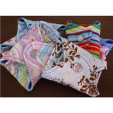 10 Reusable Washable Ultrathin cloth pantyliners or thong liners MADE TO ORDER