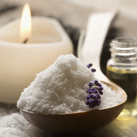 Heating Salt Scrub