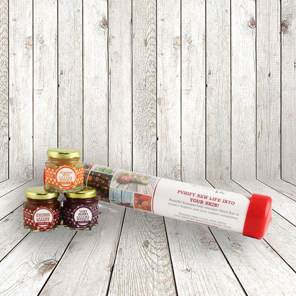 Holiday Facial Enzyme Jam Jar Collection