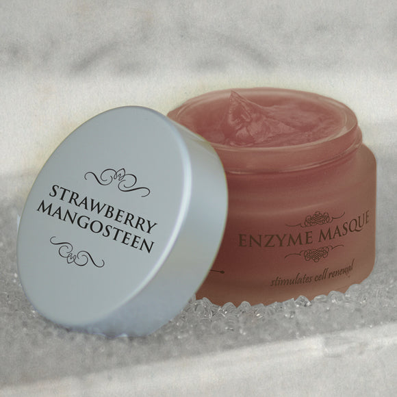 Strawberry Mangosteen Enzyme Masque