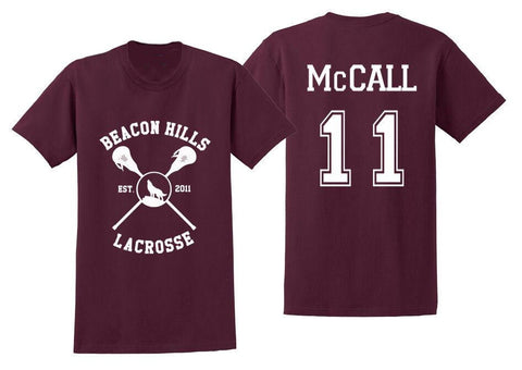 Beacon Hills Lacrosse- McCall Teen Wolf T-Shirt
