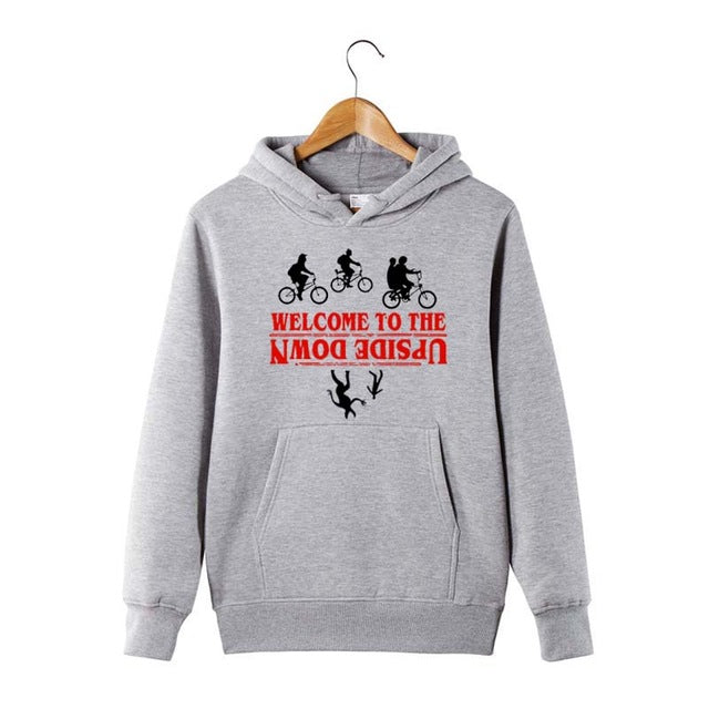 Stranger things Design Women/Men Hoodies Upsidedown