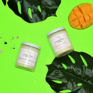 Behind the Fragrances: Mango Lassi and Indian Monsoon, Scented Soy Candles Inspired by South Asia