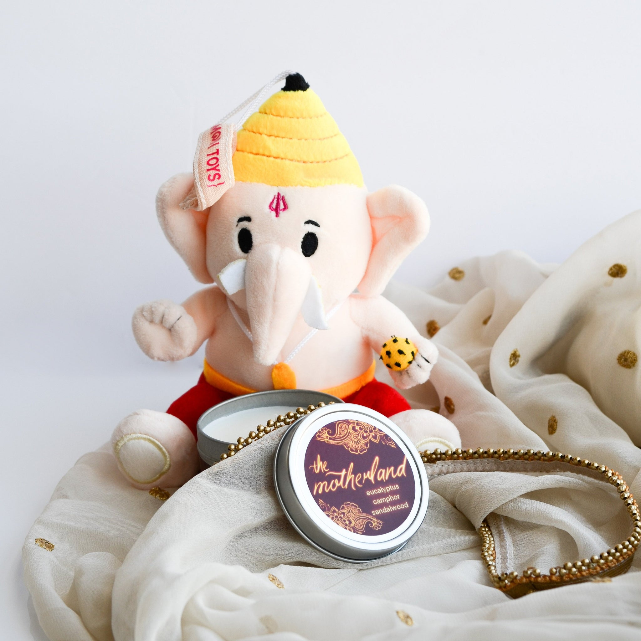 "Small 6"" Baby Ganesh by Modi Toys"