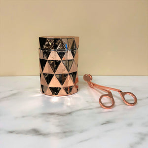 LUXE Coconut Wax Blend Candle in Copper Jar