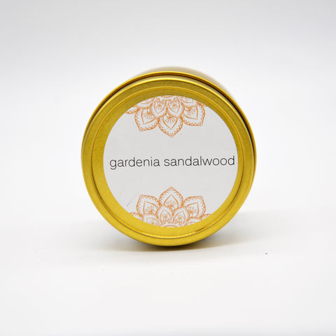Gardenia Sandalwood Tin