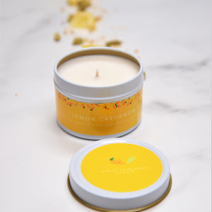 Lemon Cardamom Cookie Soy Candle