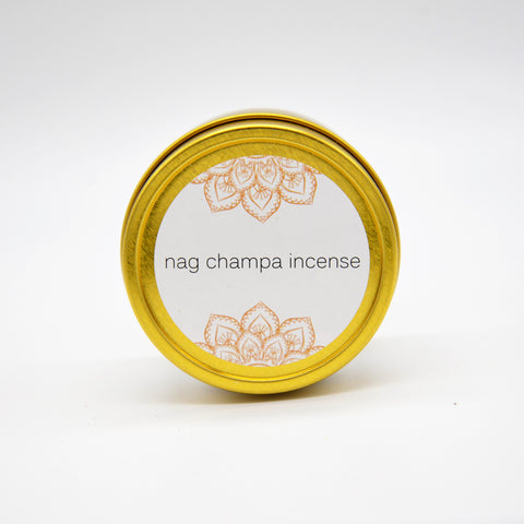 Nag Champa Incense Tin (Limited edition)
