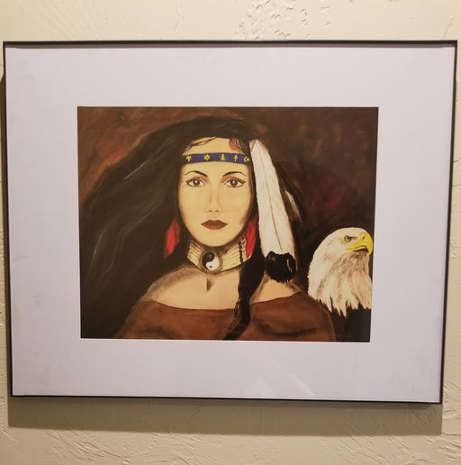 Framed Prints from Original Paintings of Wilhelmina