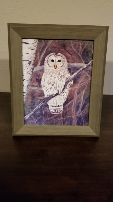 Framed Print of Painting, titled Serenity