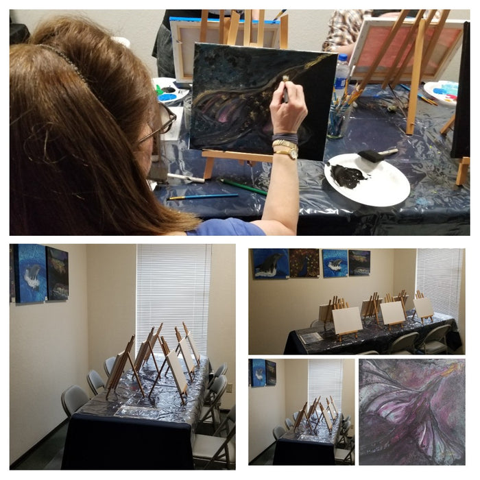 Paint Classes for Adults