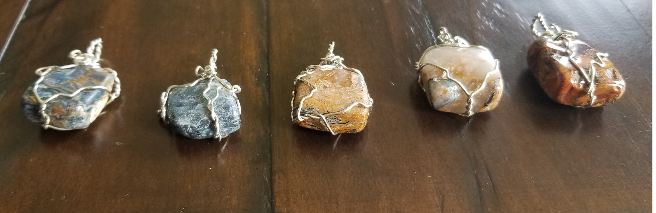 Pietersite  Pendant - Various Unique Pendants