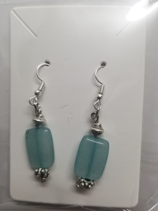 Quartz Earrings by Wilhelmina Creations