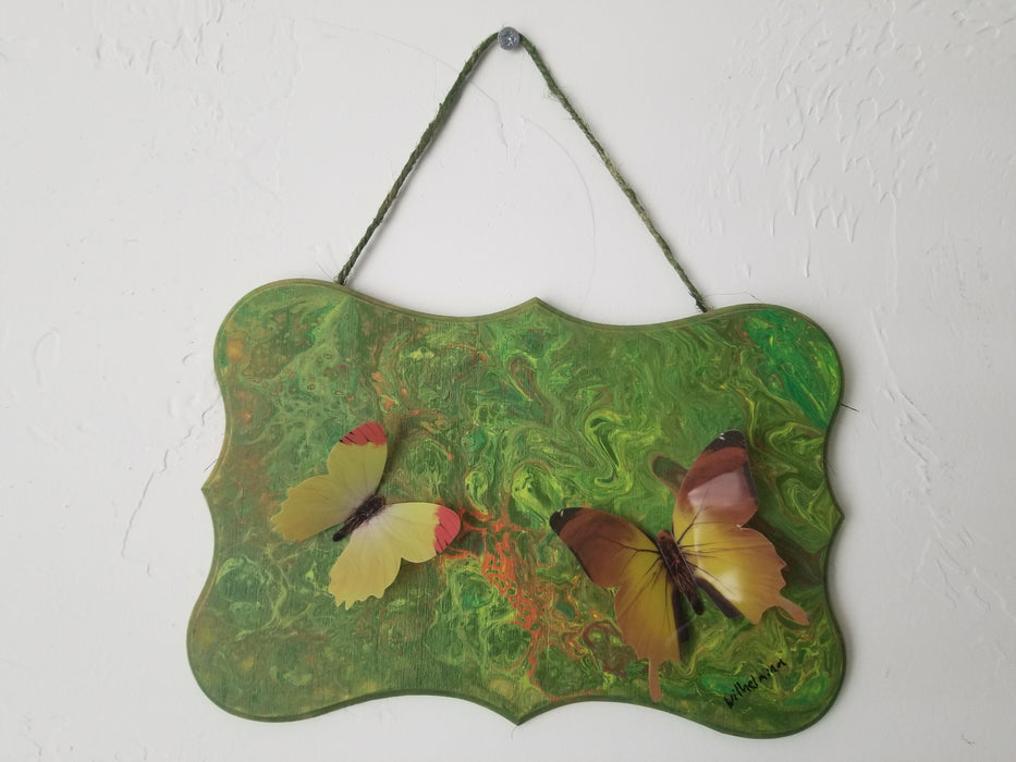 Butterfly series - Wooden Plaque