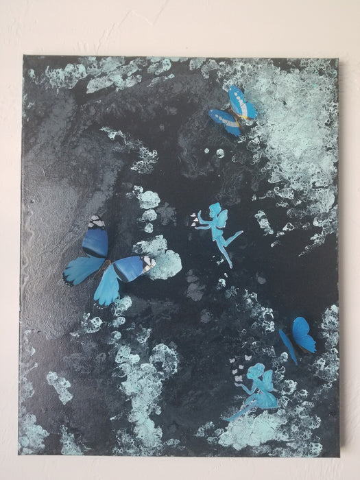Butterfly series - paintings