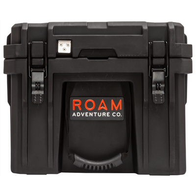 ROAM 105L Rugged Case - heavy-duty storage box in Black