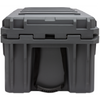 ROAM 105L Rugged Case - heavy-duty storage box in Slate color