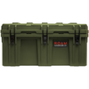 Heavy-duty ROAM 160L Rugged Case shown in OD Green