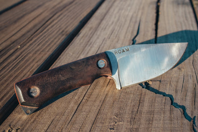 Limited Edition ROAM Mountain Lion Knife: By Lost Sasquatch