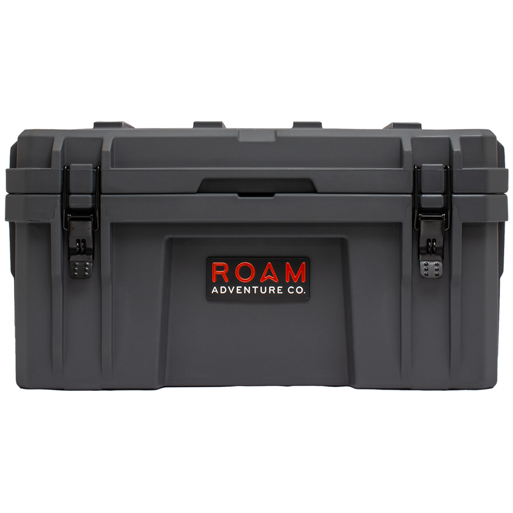 ROAM 52L Rugged Case — medium heavy-duty storage box in Slate gray color