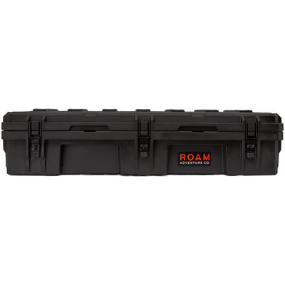 ROAM 95L Rugged Case — large low-profile durable storage box in Black color