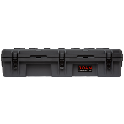 ROAM 95L Rugged Case — large low-profile durable storage box in Slate gray color