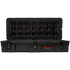 ROAM 95L Rugged Case shown with open lid in Black color