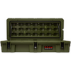 ROAM 95L Rugged Case — large low-profile durable storage box in OD Green color