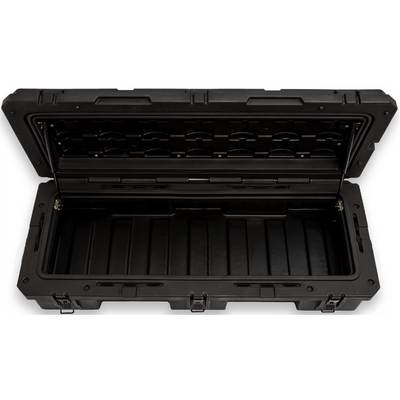 View into the large 95L Rugged Case in Black
