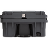 ROAM 95L Rugged Case — large low-profile durable storage box with Nylon rope handles, bottle opener and drain plug