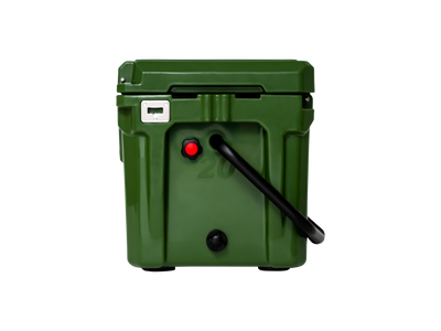 ROAM 20QT Rugged Cooler in OD Green