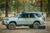 ROAM Adventure Co. Rooftop Awning connected to roof rails of a Toyota 4Runner