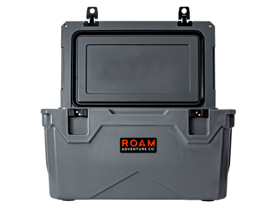 ROAM 65QT Rugged Hard-Sided Cooler in Slate