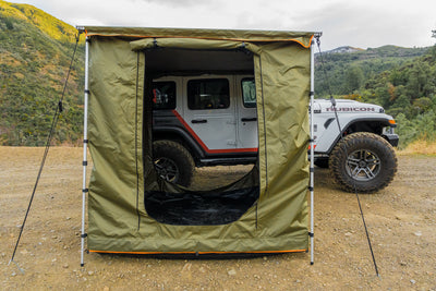 Spacious rooftop awning room for any vehicle