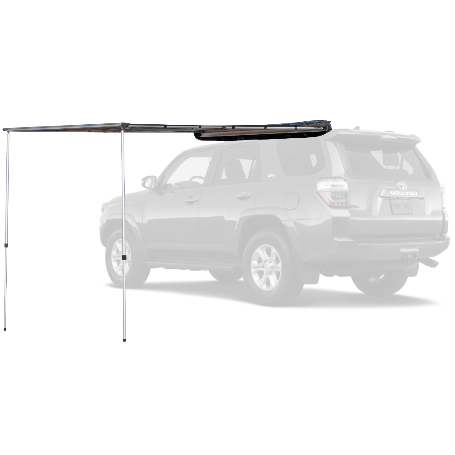 Rooftop awning shown on a Toyota 4Runner