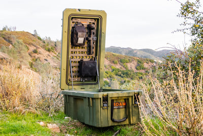 95L Rugged Case Molle Panel