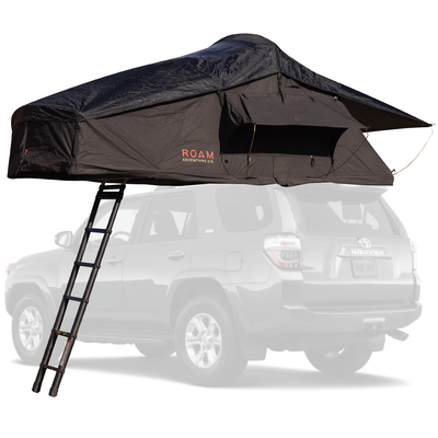 Vagabond Rooftop Tent in Black