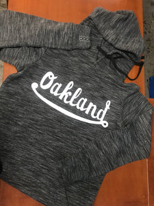 Women's French Terry Oakland Hooded Pullover
