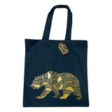 Cali Bear Tree Tote Bag