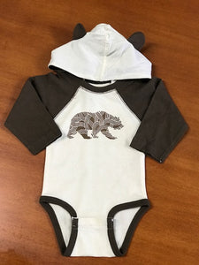 Infant Bear Tree Onesie With Ears