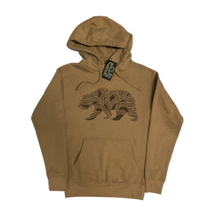 Men's Cali Bear Tree Hooded Pullover Sweatshirt