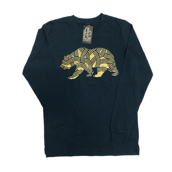 Men's Cali Bear Tree Long Sleeve T-Shirt