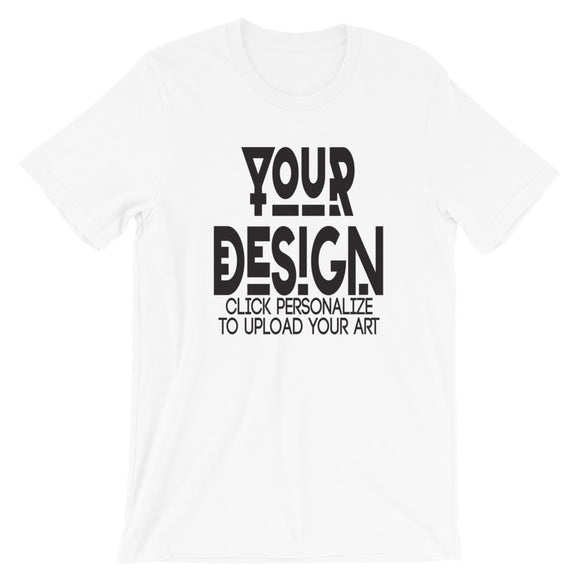 Custom Men's Short-Sleeve Unisex T-Shirt