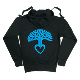 Men's Oakland Tree Heart Zip Up Hoodie