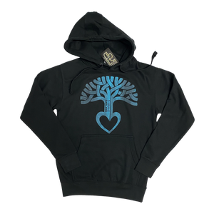 Men's Oakland Tree Heart Hooded Pullover