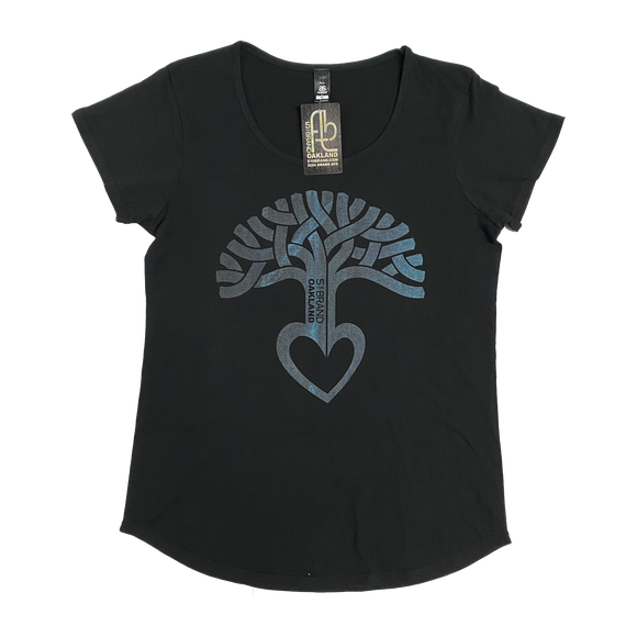 Women's Oakland Tree Heart T-Shirt