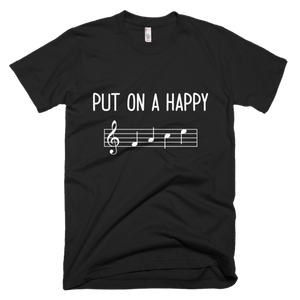 Put On A Happy FACE Music T-Shirt